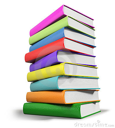 Free Stacked Books Stock Images - 13719434