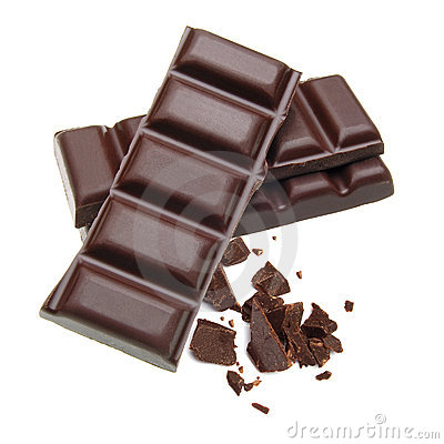 Stacked Chocolate Bars Royalty Free Stock Photos - Image: 14781288