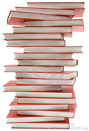 Stacked Encyclopedia w/ Path