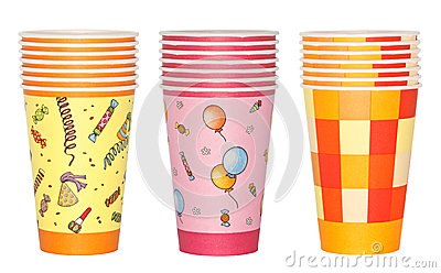 Stacked Party Cups