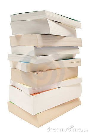Free Stacked Pocket Books Stock Photography - 3619212