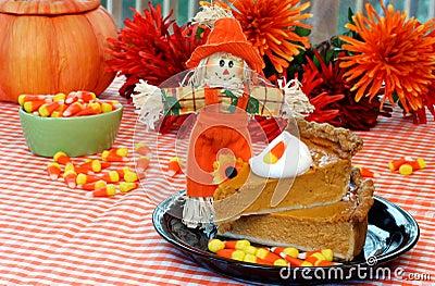 Stacked Pumpkin Pie