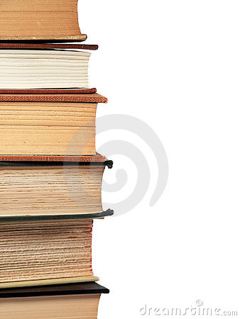 Stacked Reference Books