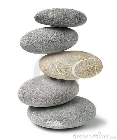 Free Stacked Stones Royalty Free Stock Image - 16441076