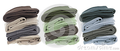 Stacks of Men s Socks