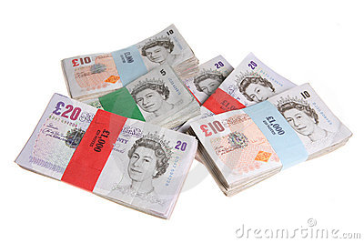 Stacks of Sterling Editorial Stock Photo