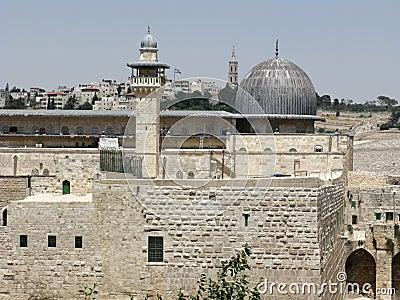 Stad gammala jerusalem