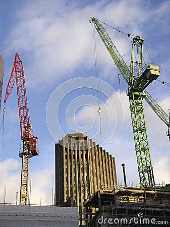 Stad van de bouw van Londen