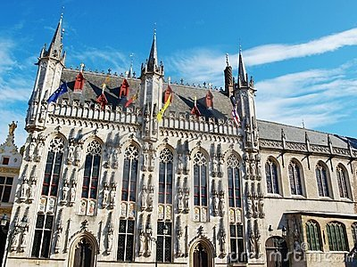 Stadhuis (town hall) in Brugge