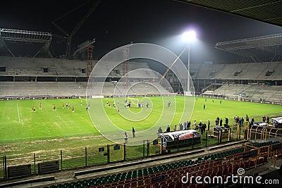 Stadium Editorial Stock Photo