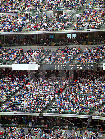 Stadium Baseball Crowd Editorial Photography