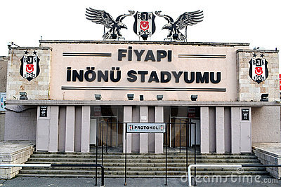 Stadium Besiktas Editorial Image