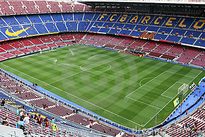 Stadium Camp Nou Editorial Stock Image