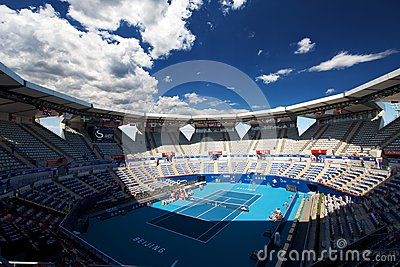 Stadium of China Open Editorial Photography
