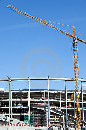 Stadium Construction Site