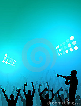 Free Stadium Crowd Royalty Free Stock Photography - 1227577