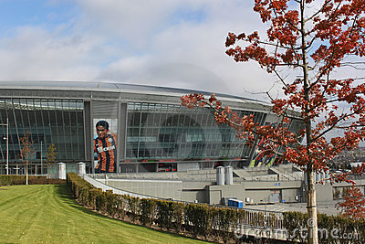 Stadium Donbass Arena Editorial Photo