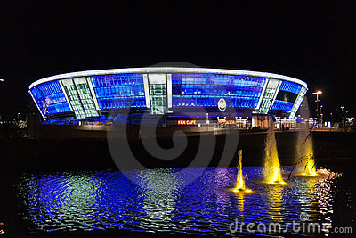 Stadium Donbass Arena Editorial Stock Photo