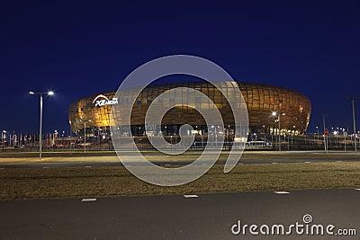 Stadium for Euro 2012 Championship Editorial Stock Photo