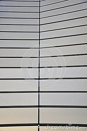Stadium exterior detail
