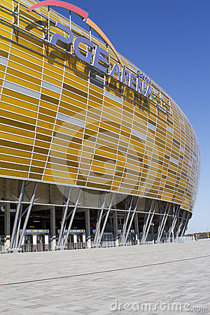 Stadium in Gdansk Editorial Image