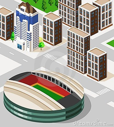 Stadium Isometric