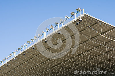Stadium Lights Royalty Free Stock Image - Image: 24710906