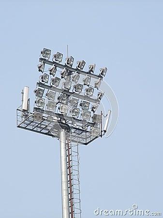 Free Stadium Lights Stock Images - 9624784