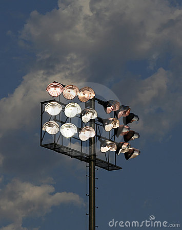 Stadium Lights-Dusk