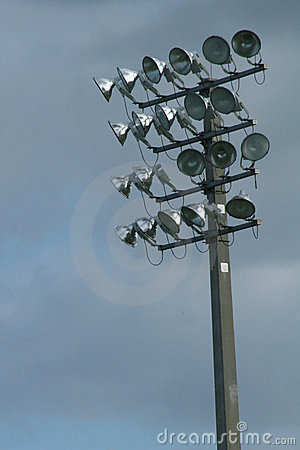 Stadium lights vertical