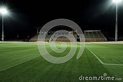 Stadium at night