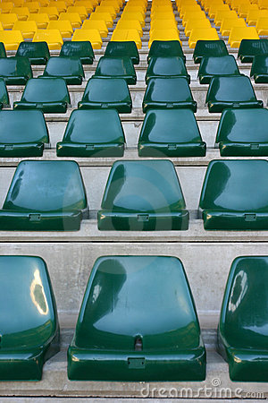 Free Stadium Seat Stock Image - 175141