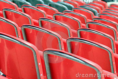 Stadium Seats Stock Photo - Image: 19534080