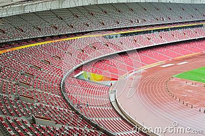 Stadium seats Editorial Photography