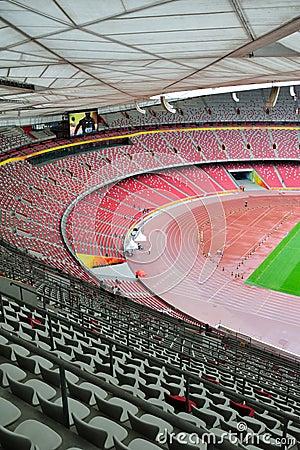 Stadium seats Editorial Image