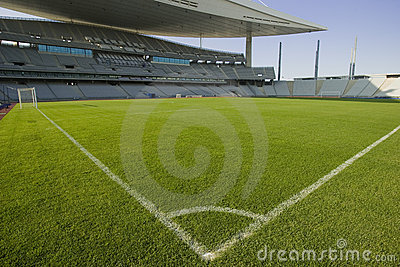 Stadium and Soccer Lines