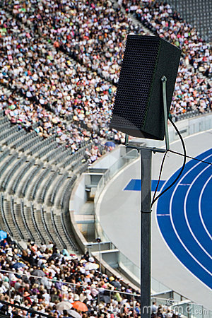 Stadium Speaker Royalty Free Stock Photos - Image: 11341748
