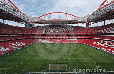 Stadium and Sport Lisbon e Benfica Editorial Stock Photo