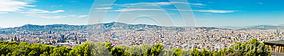 Stadtbild von Barcelona. Spanien.