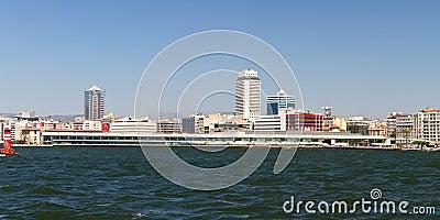 Stadtbild von Izmir, die Türkei