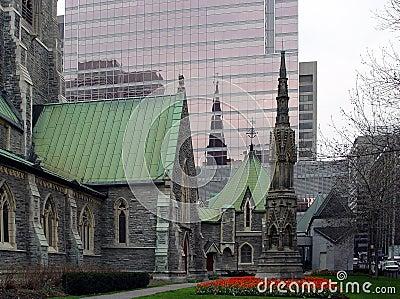 Stadtzentrum von Montreal