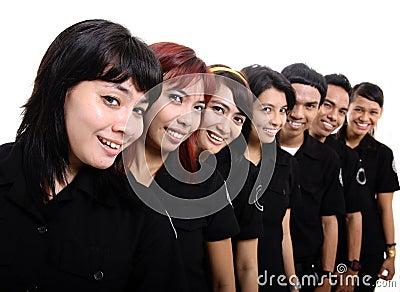 Staff in uniform