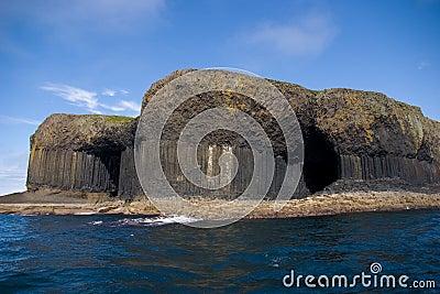 Staffa Шотландии острова
