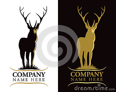Stag Deer Logo