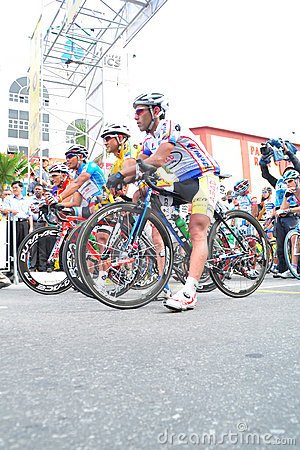 Stage 6 Winners  at LTDL Stage 7 Starting Point Editorial Photo