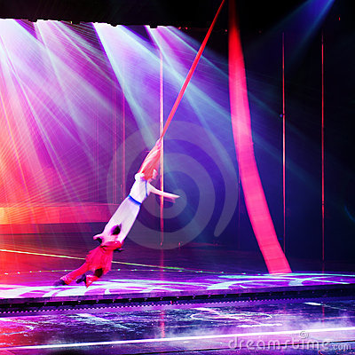 Stage acrobatics