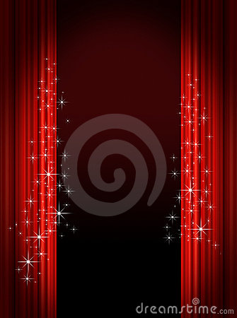 Free Stage Curtains Stock Photography - 6835402