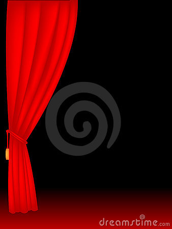 Free Stage Curtains Stock Photos - 7953723