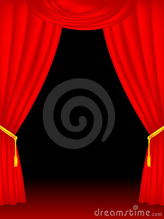Free Stage Curtains Stock Photos - 7953733