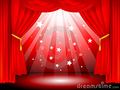 stage curtains royalty free stock photos image 7953808